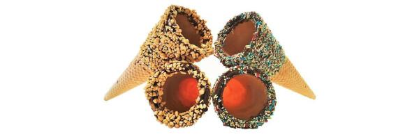 Chocolatey Cones