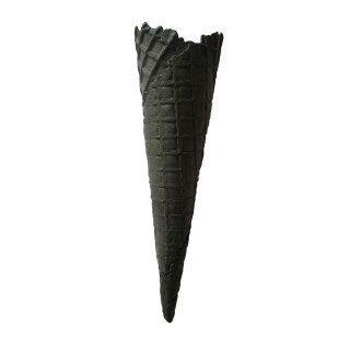 No. 356 | Danish cone Long Tom Black 200xØ56mm 150 pieces vegan
